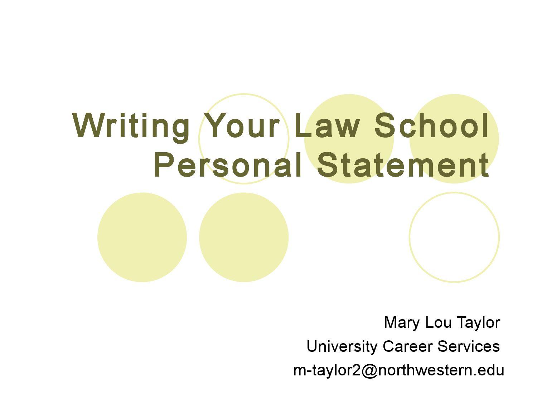 Law school personal statement writing service mcgill