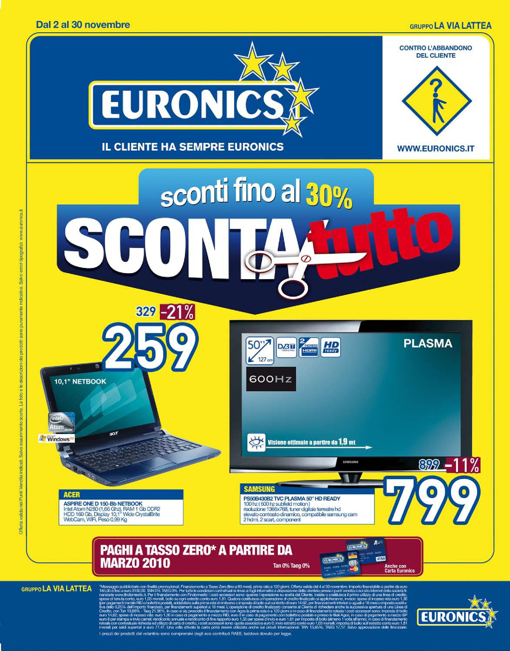 volantino la via lattea by euronics italia spa issuu