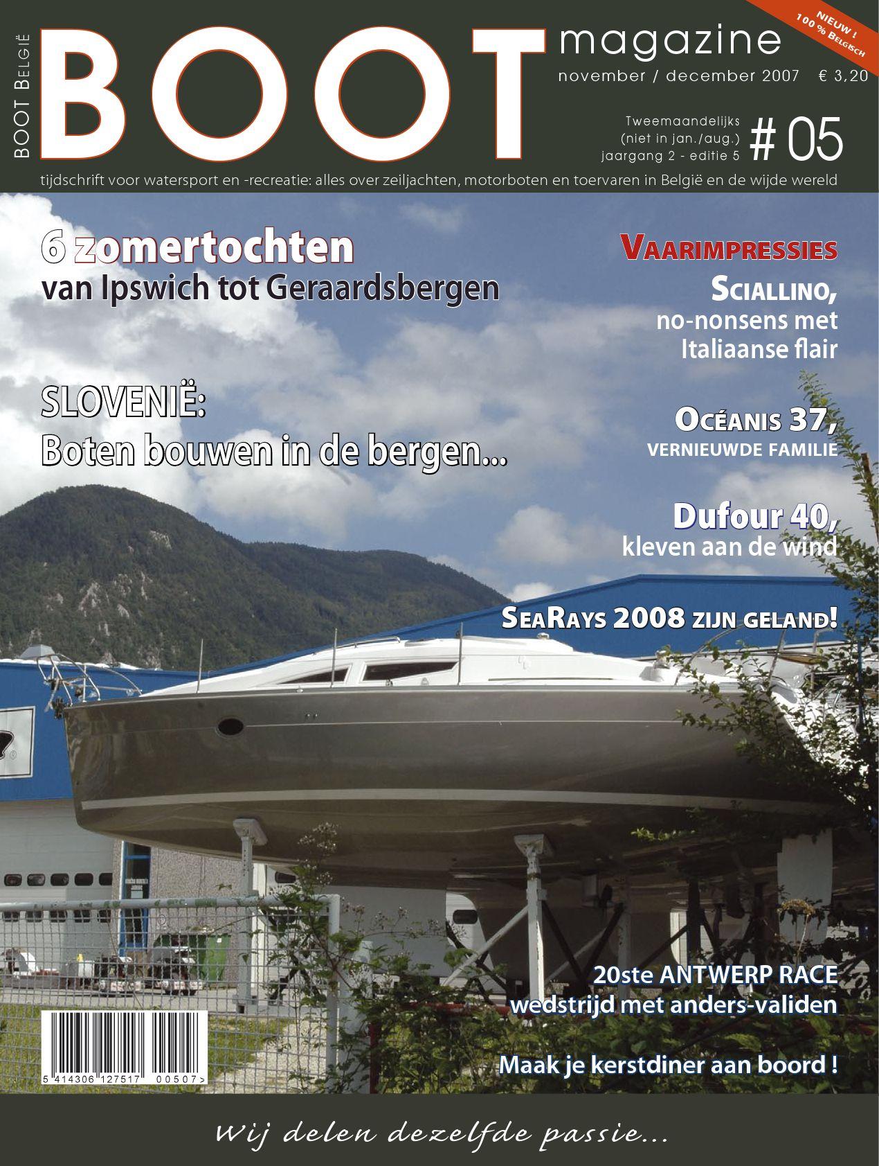 BOOTmagazine # 06 - september-oktober 2007 by Leo Van Dorsselaer ...