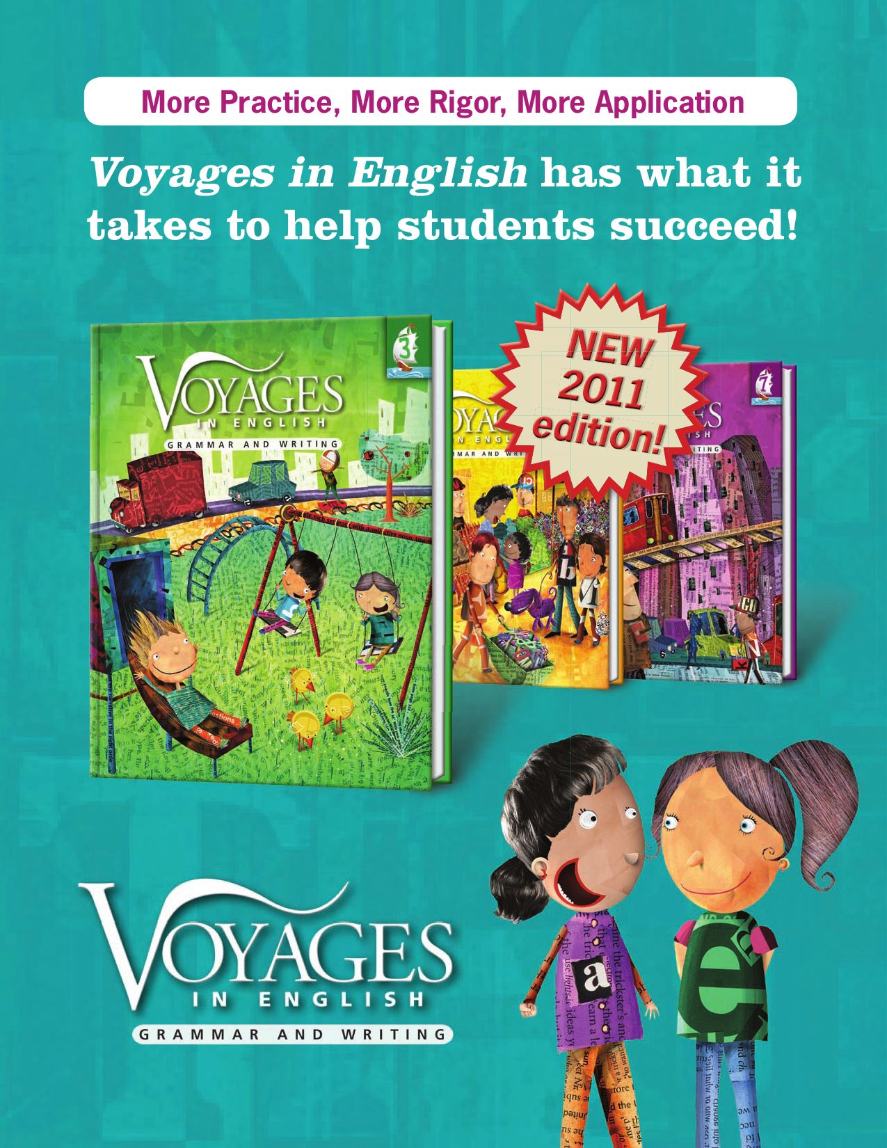 Voyages in English. Grade 3 : grammar and writing