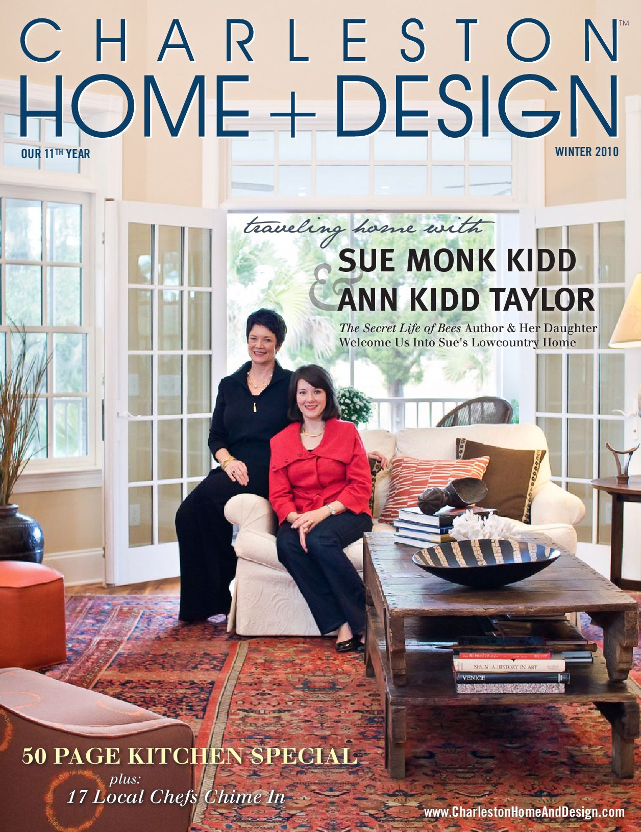 Charleston home design by charleston home and design for Charleston home design magazine