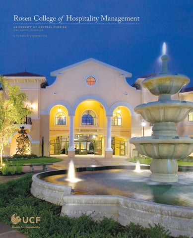 Rosen College of Hospitality Management Viewbook 2010