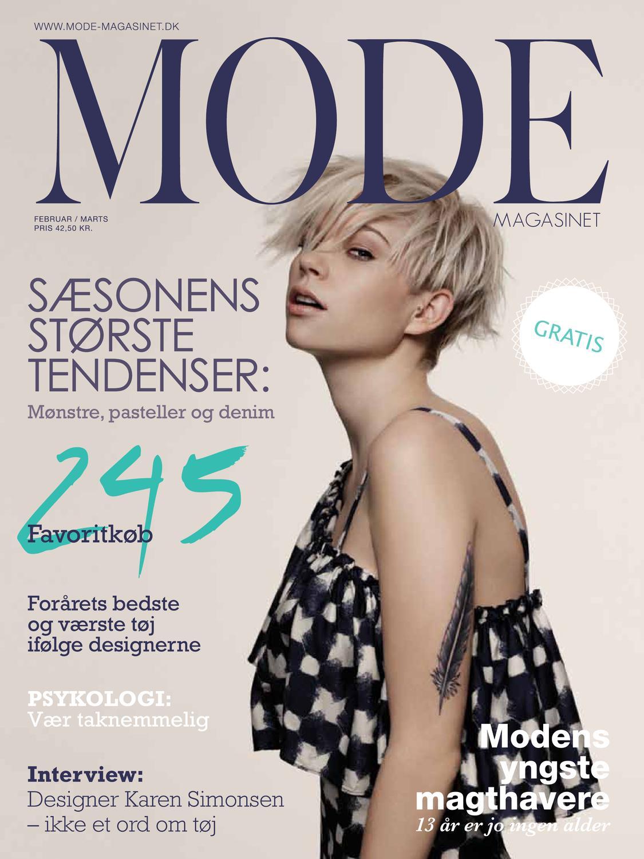 ModeMagasinet #4 by Mathilde Holkenfeldt Behrendt - issuu