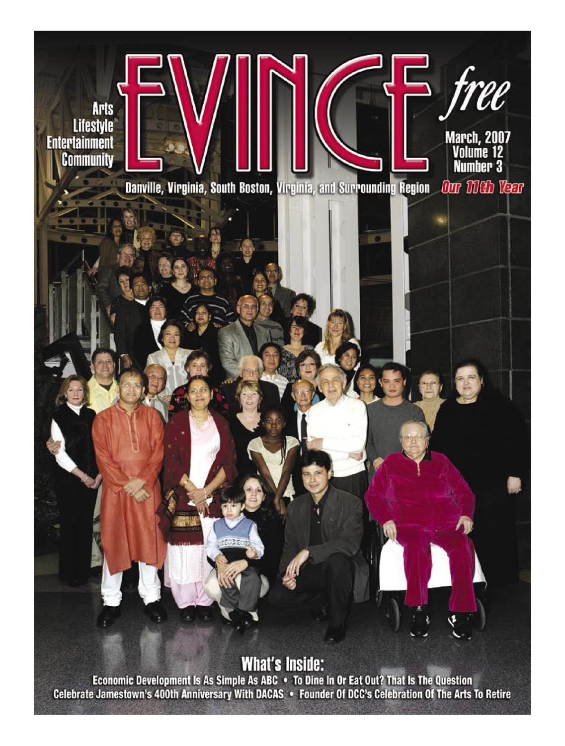 Evince March 07 by Andrew Brooks Media Group - issuu