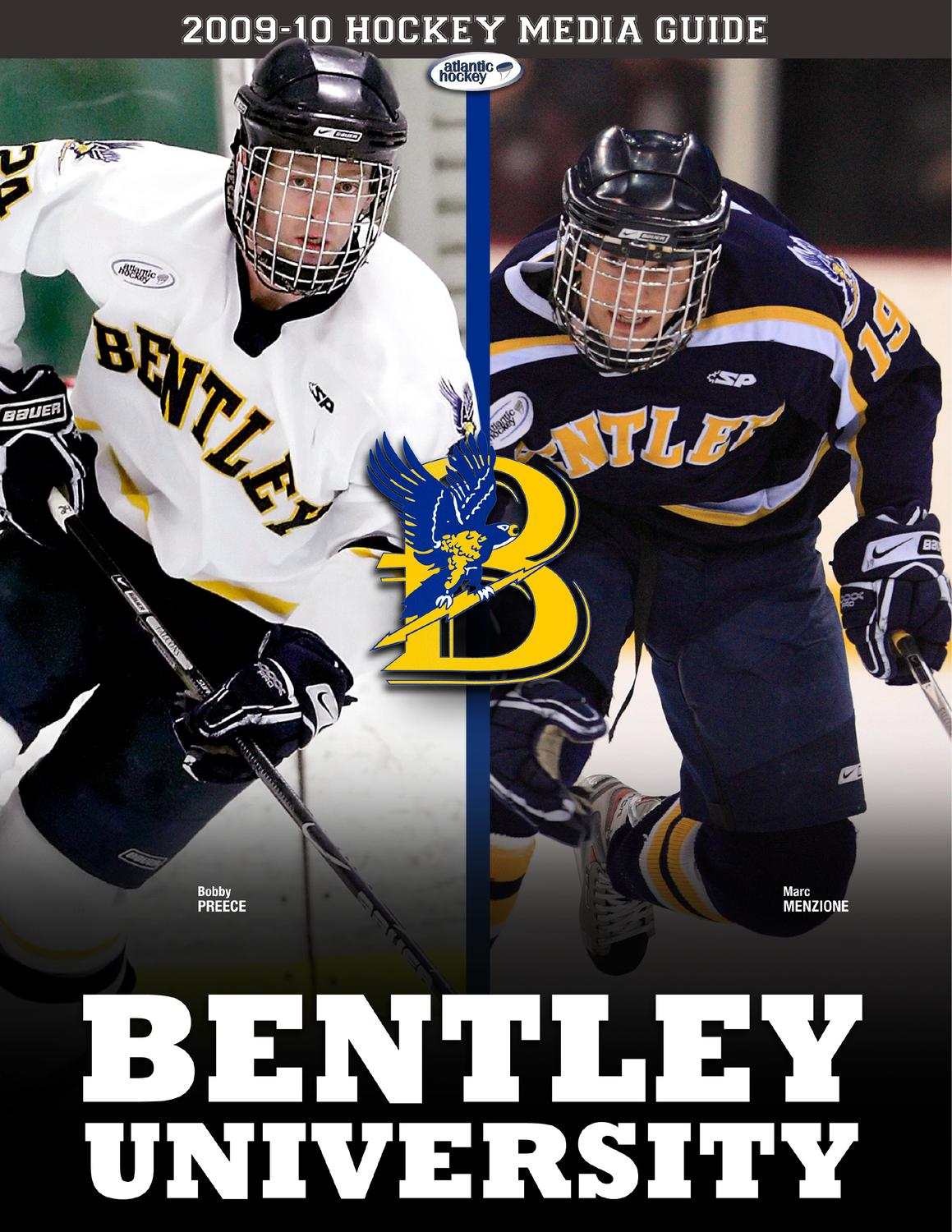 2009 10 bentley university hockey media guide by dick lipe issuu. Cars Review. Best American Auto & Cars Review