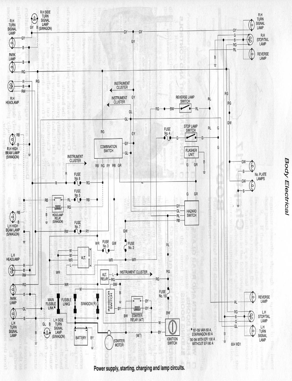 Mitsubishi Express Van Wiring Diagram Electrical Diagrams Minicab U62t L300 Versa Austin Healey