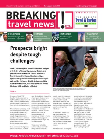 Breaking Travel News - WTTC 2008