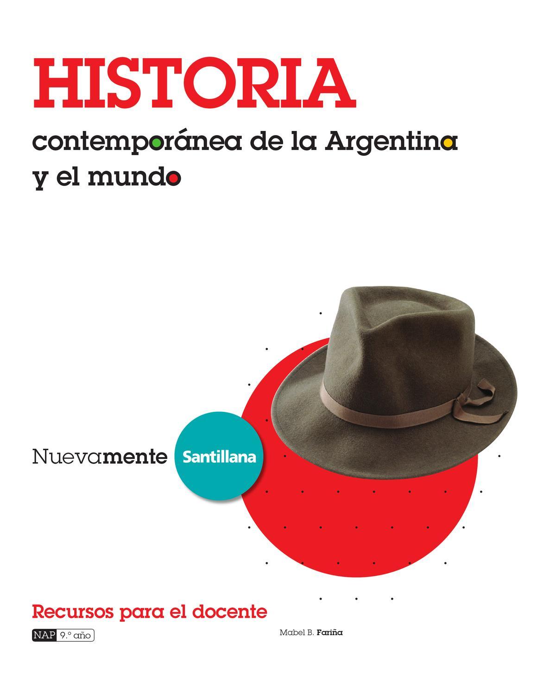 Nuevamente historia contempor nea de la argentina y el for Caracteristicas de la contemporanea