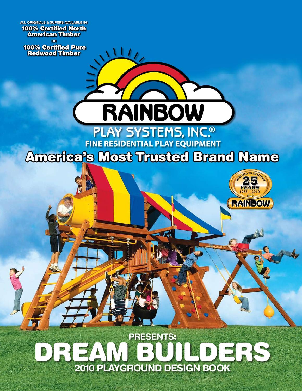 Rainbow 2010 Playground Design Book By Sundog Issuu