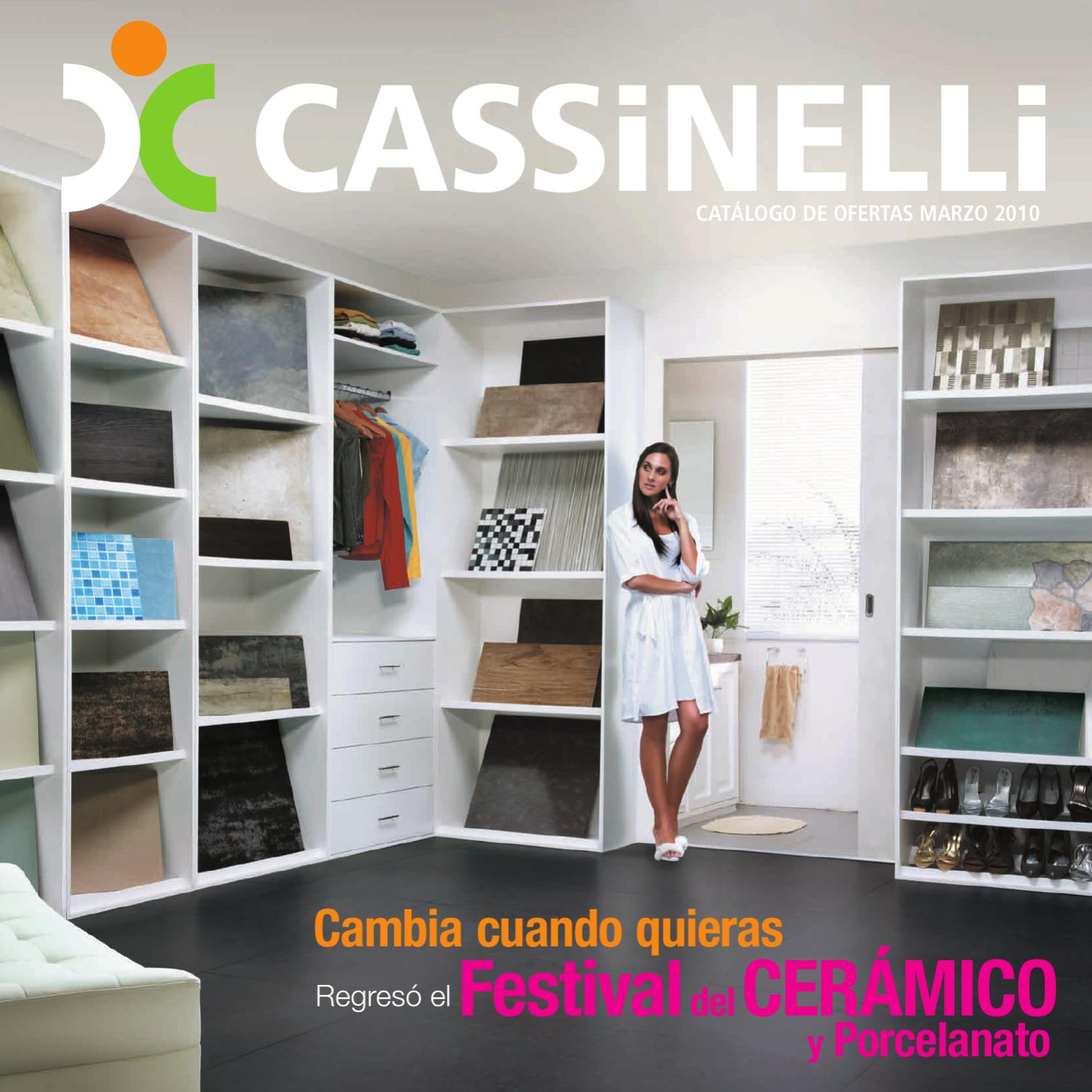 Cassinelli ofertas marzo 2012 by cassinelli   issuu