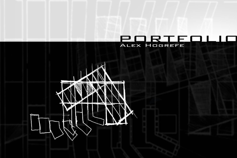 2007 Undergraduate architecture portfolio by Alex Hogrefe