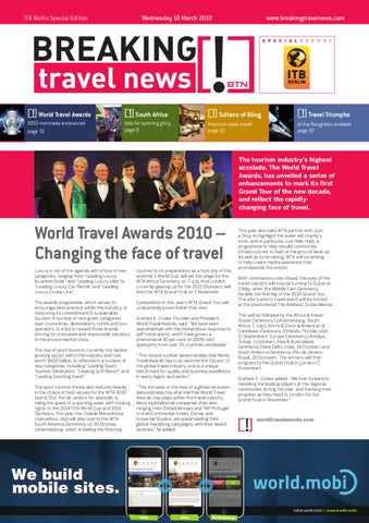 Breaking Travel News Special Edition - ITB Berlin 2010 Day 1