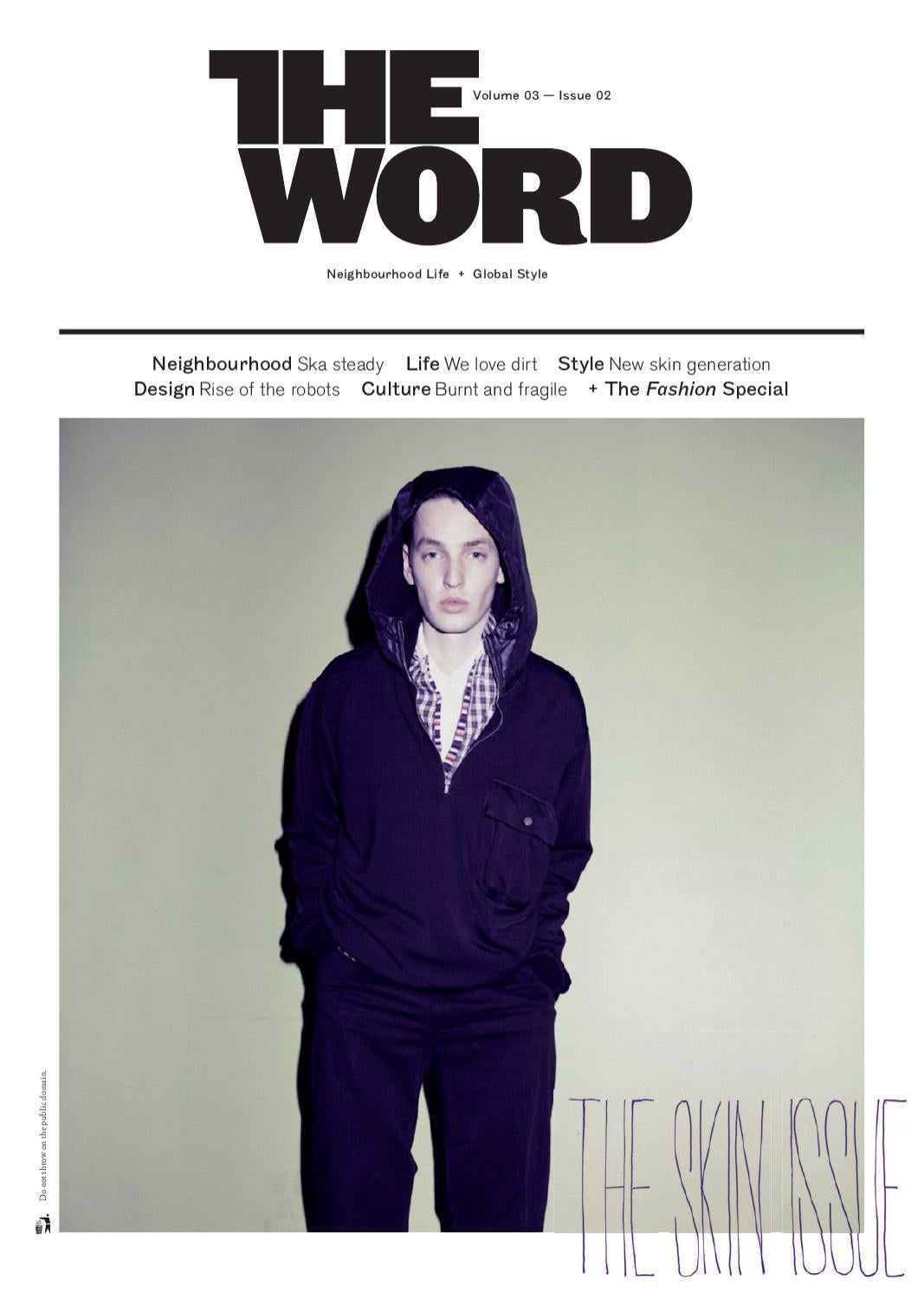 the skin issue by the word magazine issuu