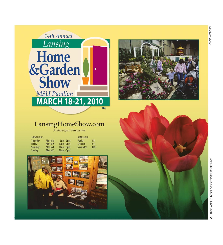 Lansing Home Garden Show Program 2010 By Showspan Inc
