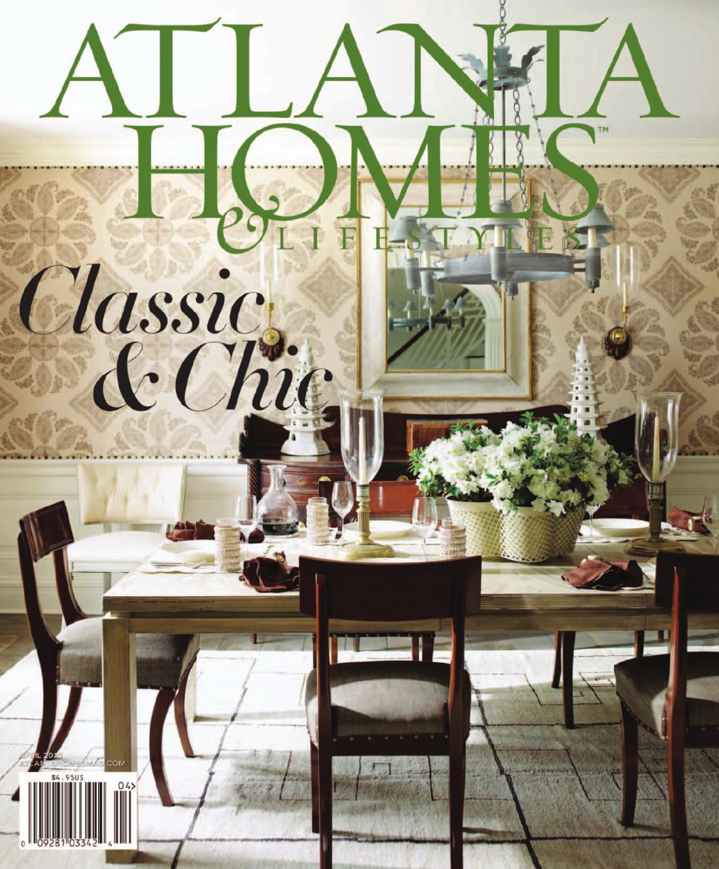 Atlanta Garden Of Bill Hudgins: Atlanta Homes & Lifestyles By Network Communications, Inc