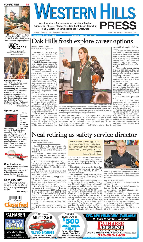 Western Hills Press 031710 By Enquirer Media Issuu