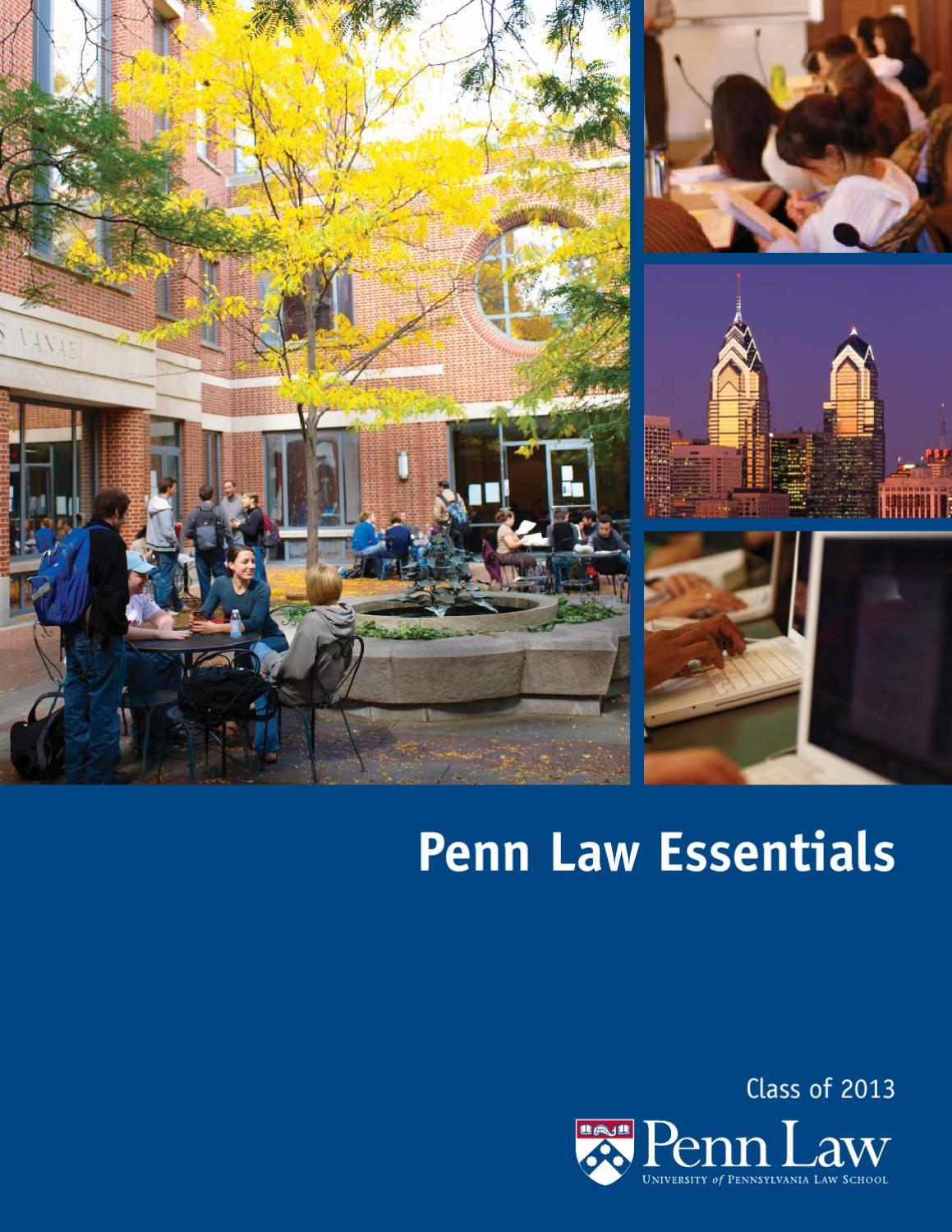 penn law admissions essay In addition to a personal statement, most law schools invite applicants to highlight a unique aspect of their profile via an optional diversity essay as one example, stanford law school includes the following instructions in its application materials: if you would like the committee to consider how.