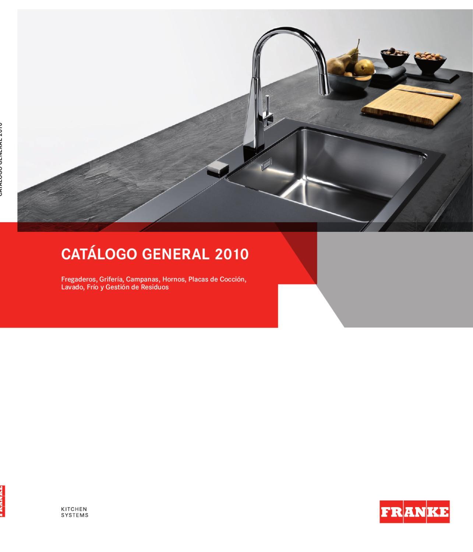 Cat logo franke 2010 by pepe pepito issuu for Franke cocinas catalogo