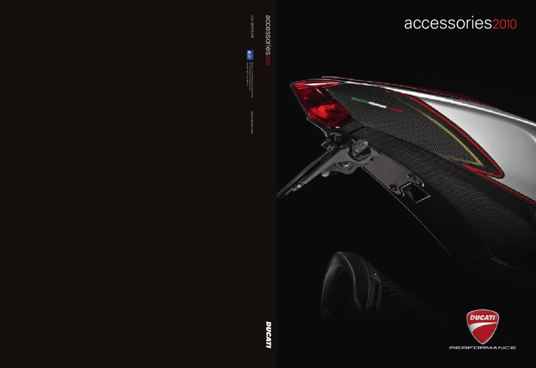 Ducati Accesorios 2010 By Joaquin Ruzafa Issuu