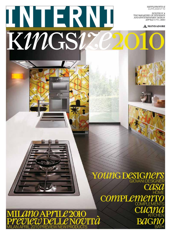 Interni king size 2012 by interni magazine   issuu