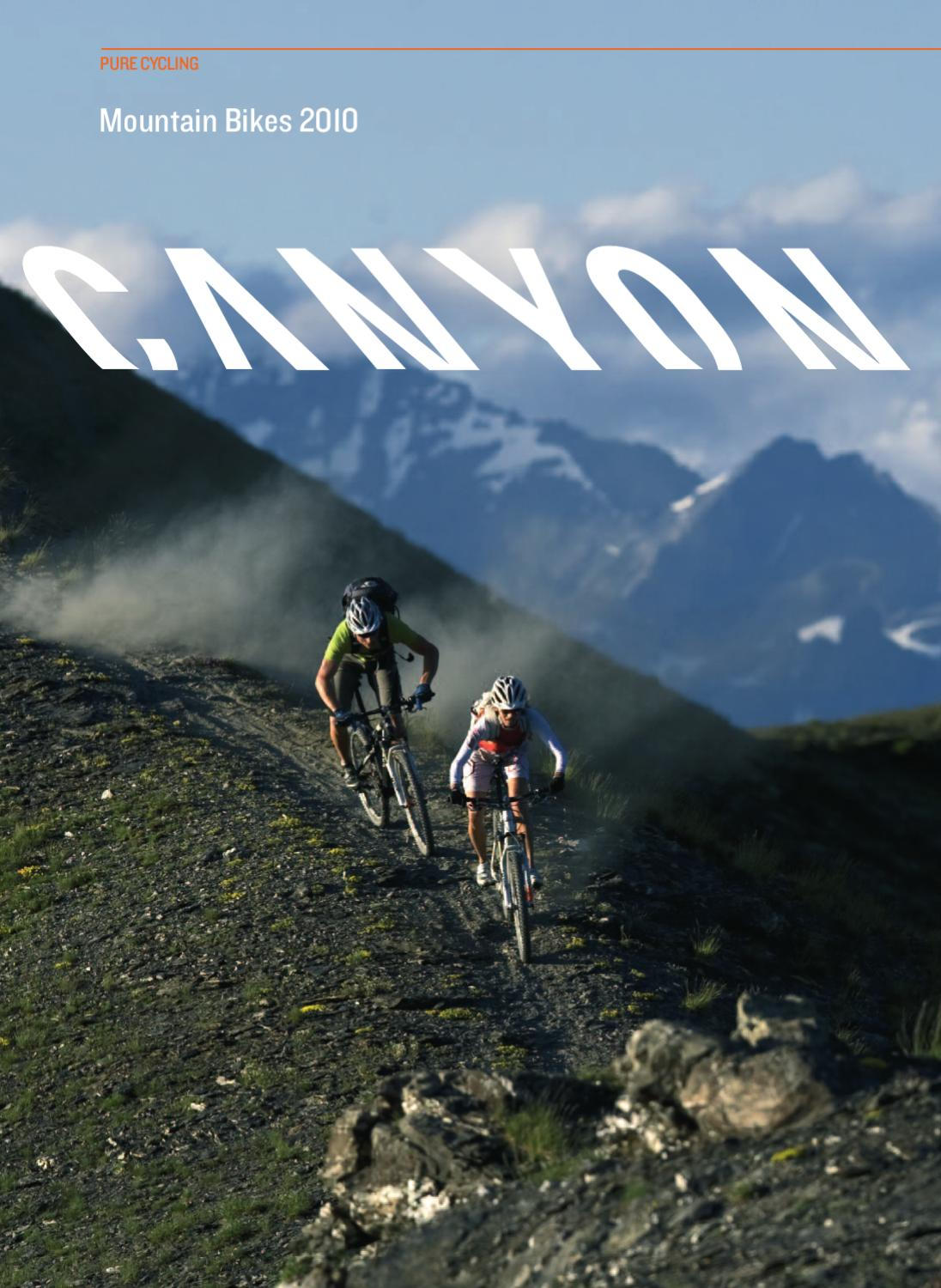 canyon mtb katalog 2010 by canyon bicycles gmbh issuu. Black Bedroom Furniture Sets. Home Design Ideas