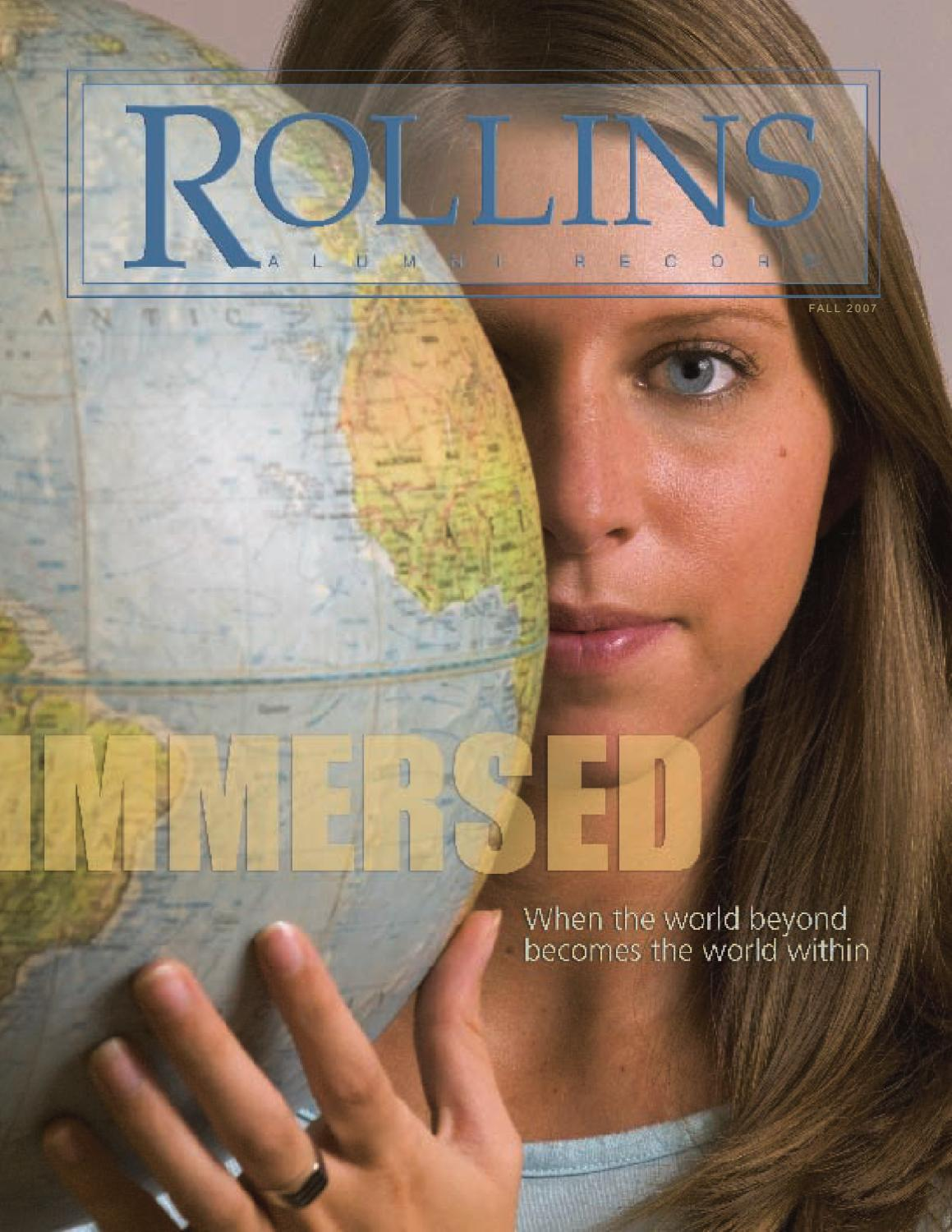 Rollins Alumni Record Fall 2007 By Rollins College Issuu