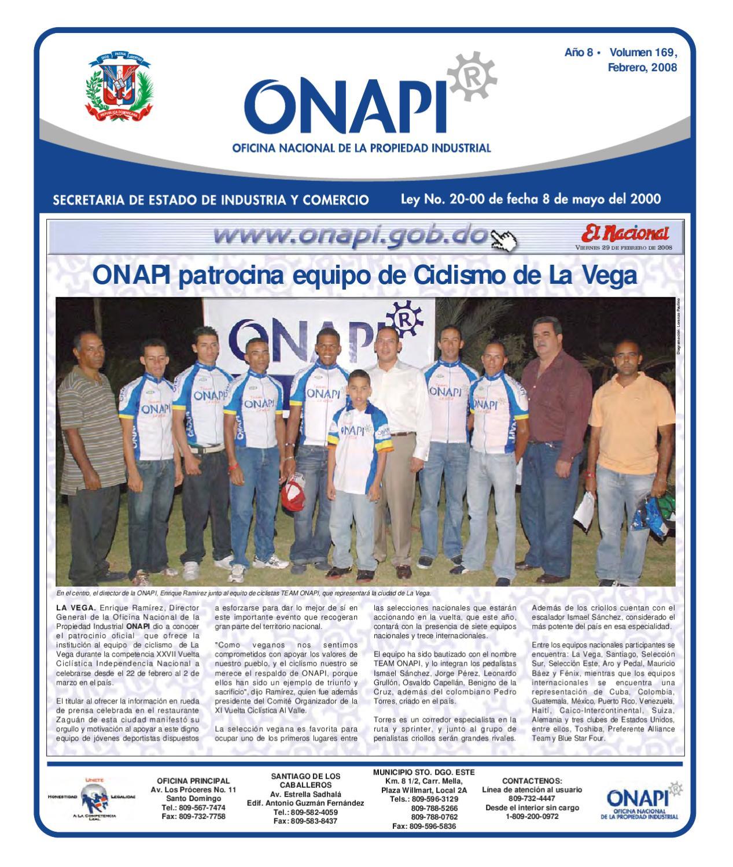 Onapi29feb081 by oficina nacional de la propiedad for Oficina nacional de fiscalidad internacional
