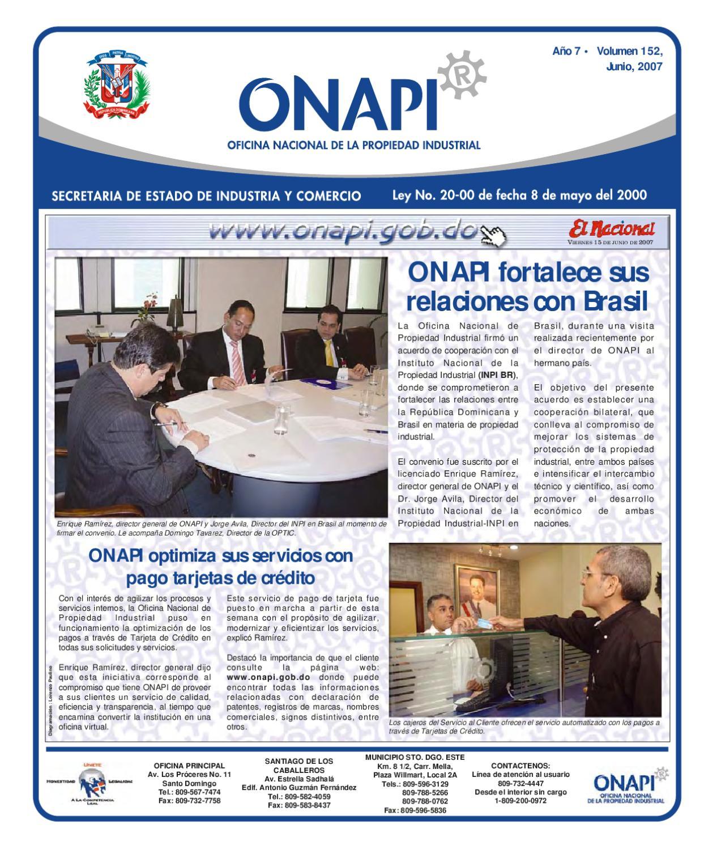 15 junio2007 by oficina nacional de la propiedad for Oficina nacional de fiscalidad internacional
