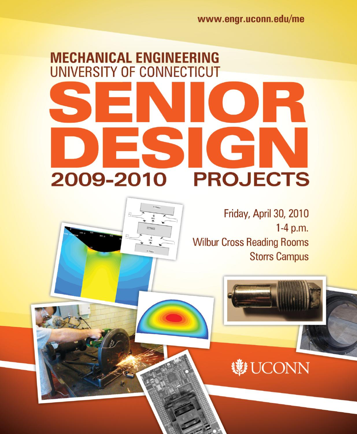 2010 senior design brochure by mechanical engineering issuu