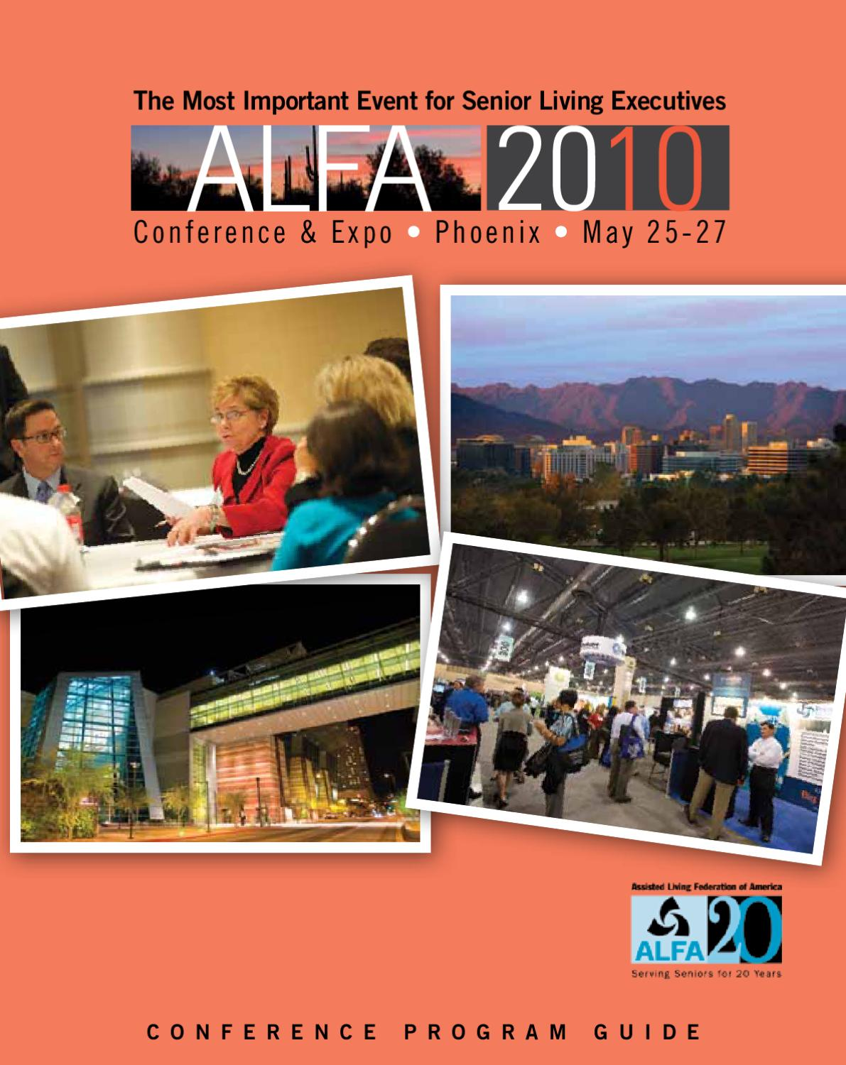 2010 Alfa Conference Amp Expo Program Guide By Content