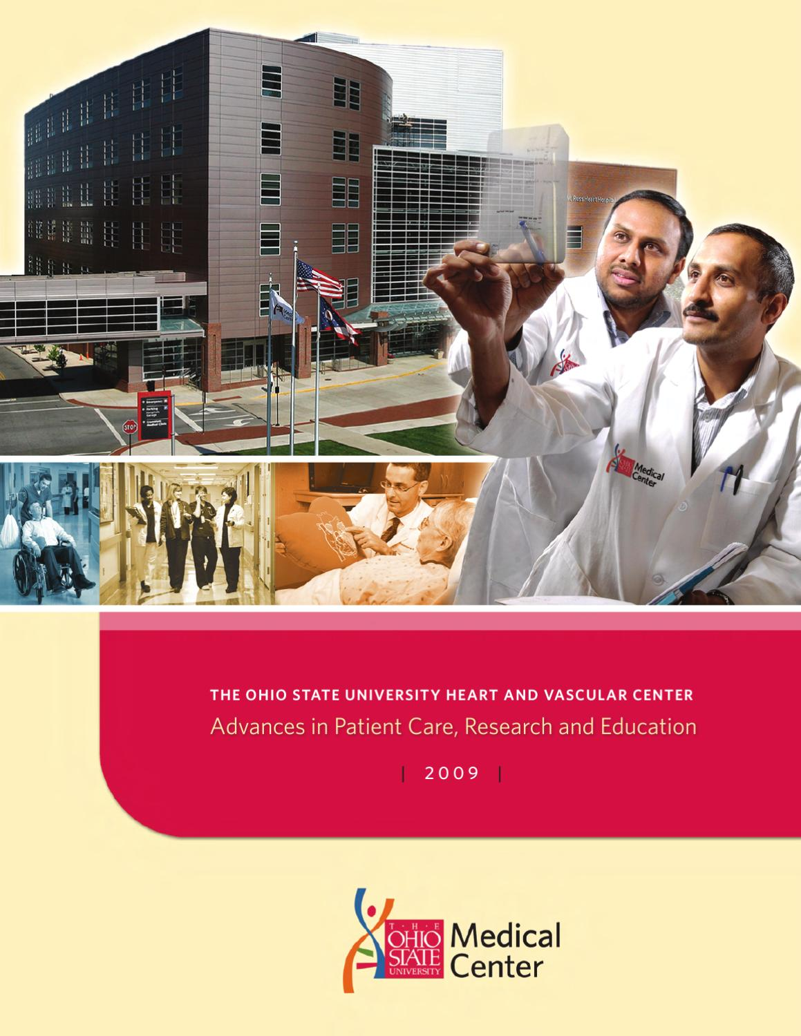 ohio state university heart and vascular center advances in patient care research and