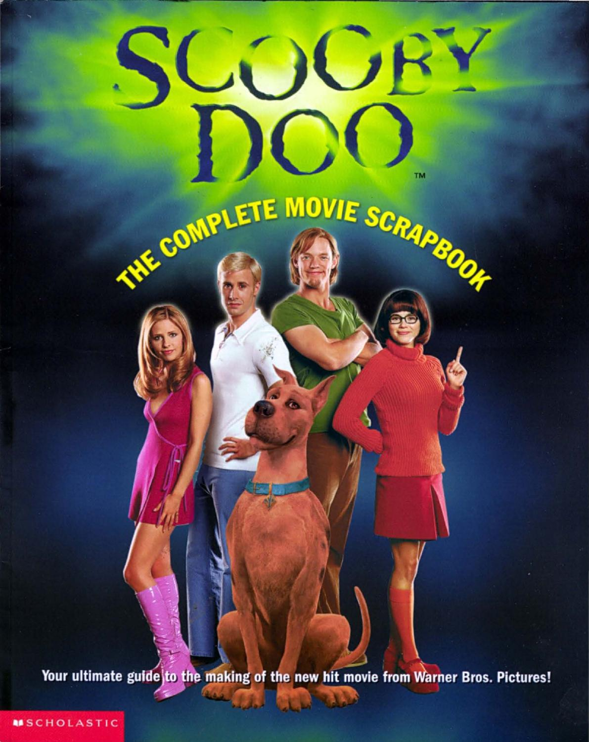 Scooby doo the complete movie scrapbook by vinnie - Scoobidou film ...