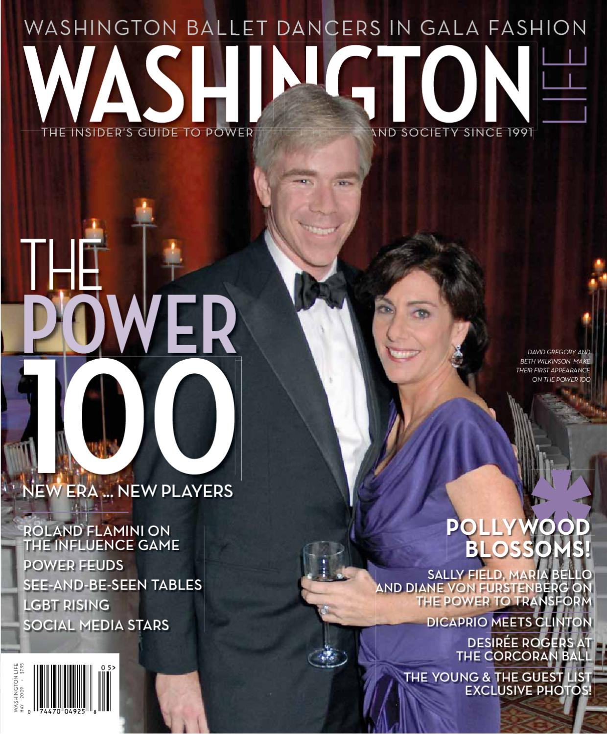 washington life magazine may 2009 by washington life