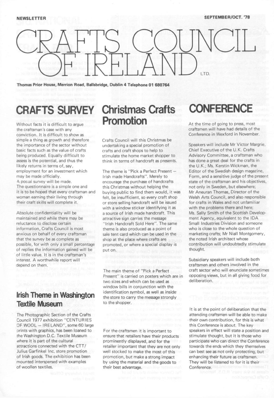Arts And Crafts Society Of Ireland