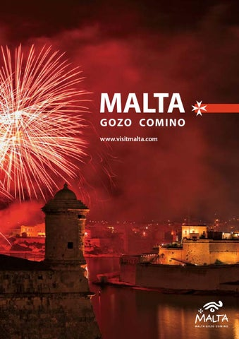 Free magazine Malta Tourism Authority