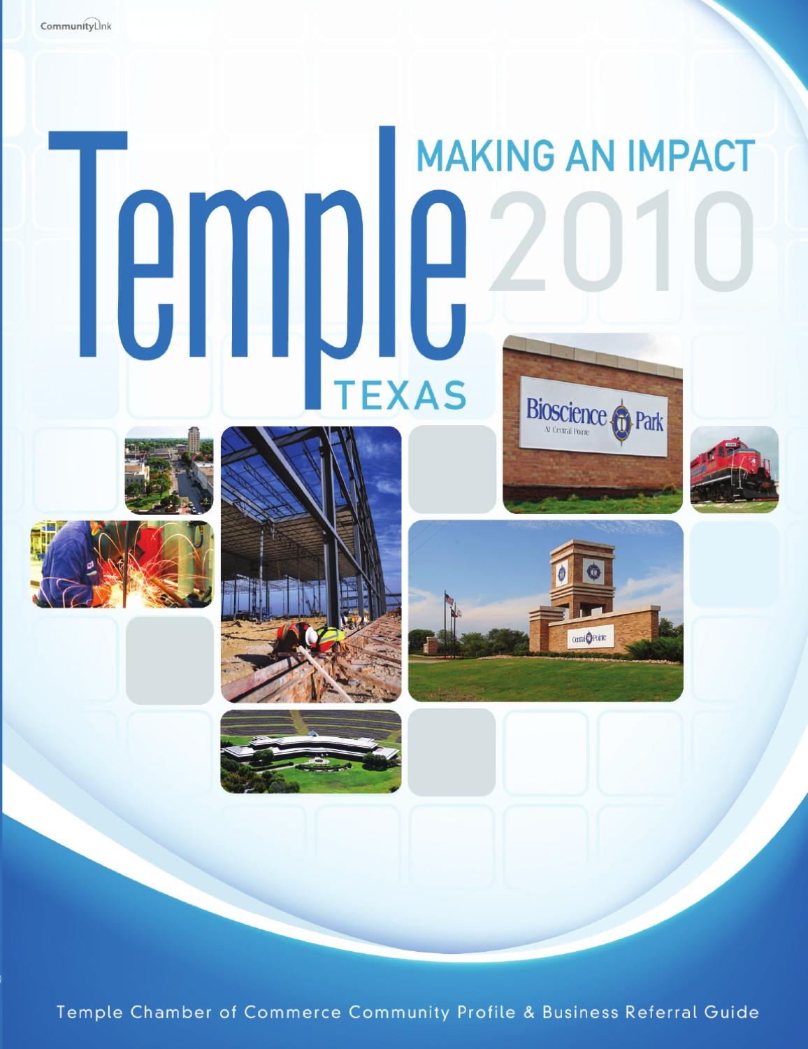 Temple  TX      Community Profile and Referral Guide by     Temple  TX      Community Profile and Referral Guide by CommunityLink   issuu