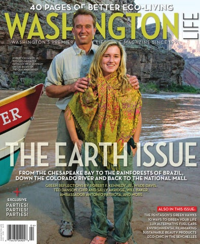 Washington Life Magazine April 2008