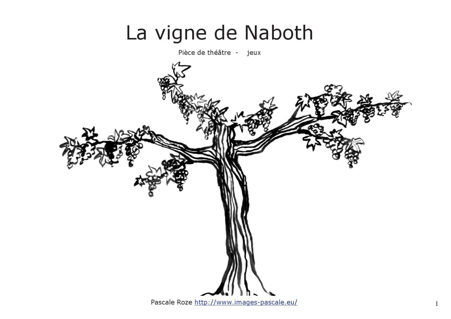 la vigne de naboth by roze pascale. Black Bedroom Furniture Sets. Home Design Ideas