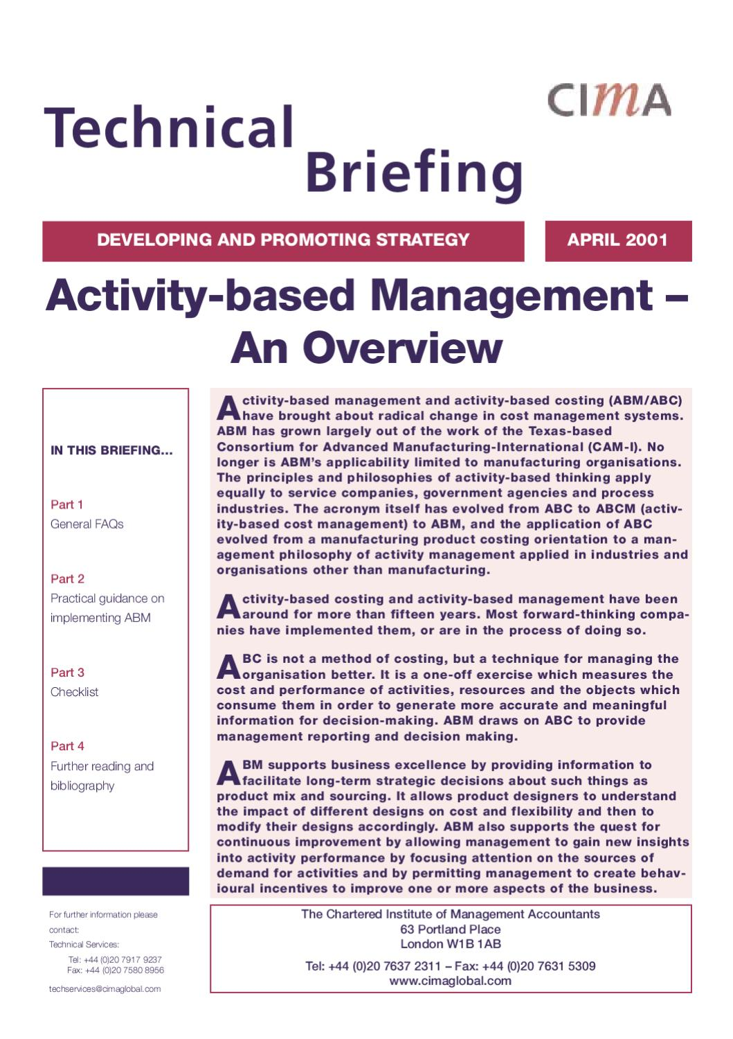 Summary report for individual task management