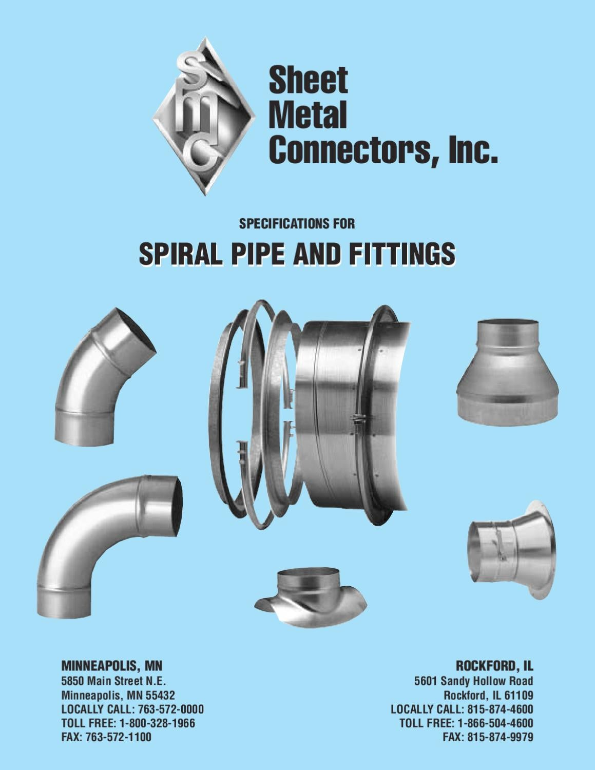 Spiral pipe and fittings by gasman design issuu