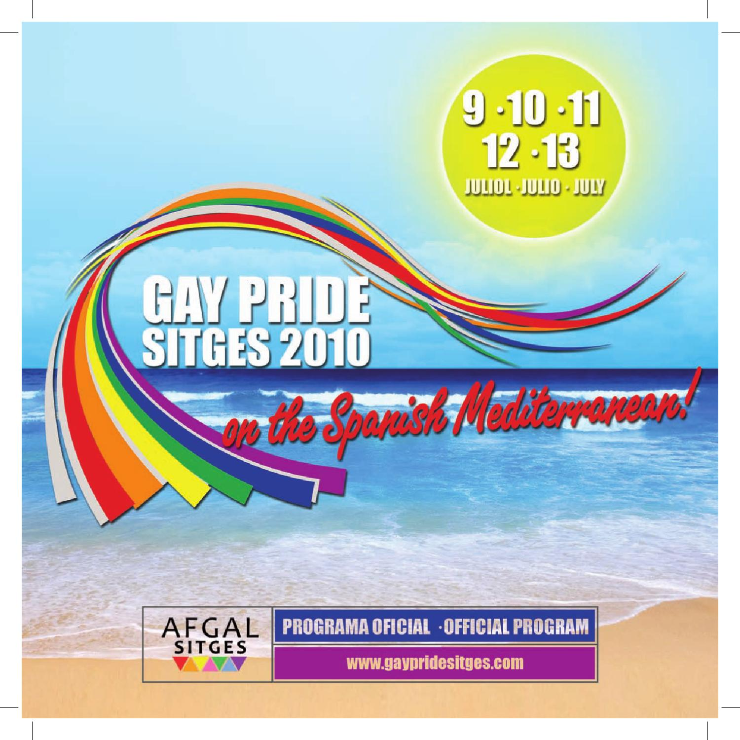 Gay pride sitges program by gay pride sitges issuu - Sitges tourist information office ...