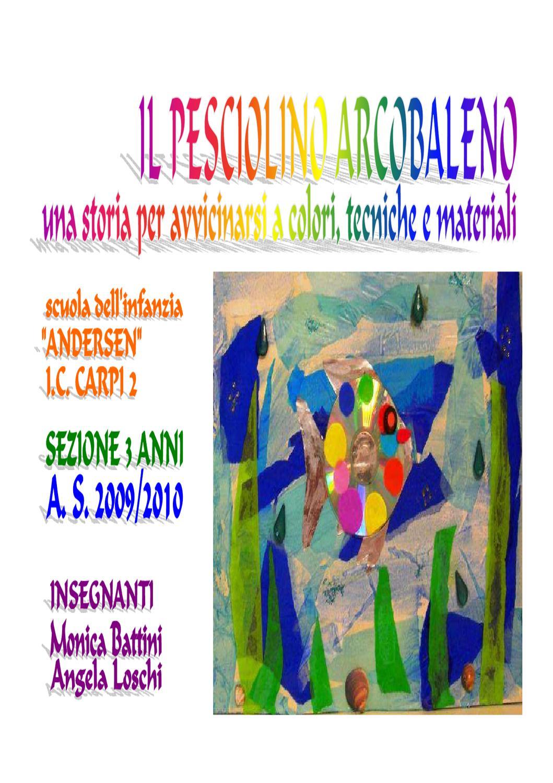 Il pesciolino arcobaleno by monica battini issuu for Disegni pesciolino arcobaleno