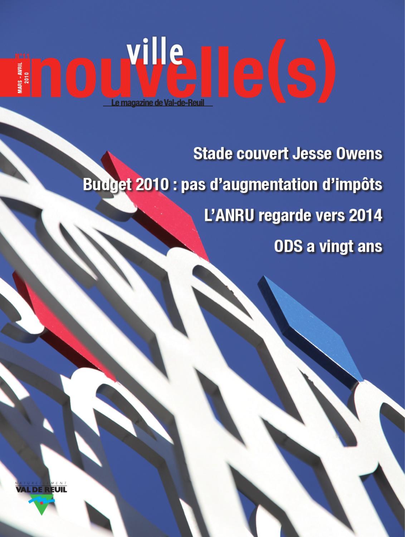 Magazine de la ville de val de reuil n 11 by olivier for Piscine de val de reuil