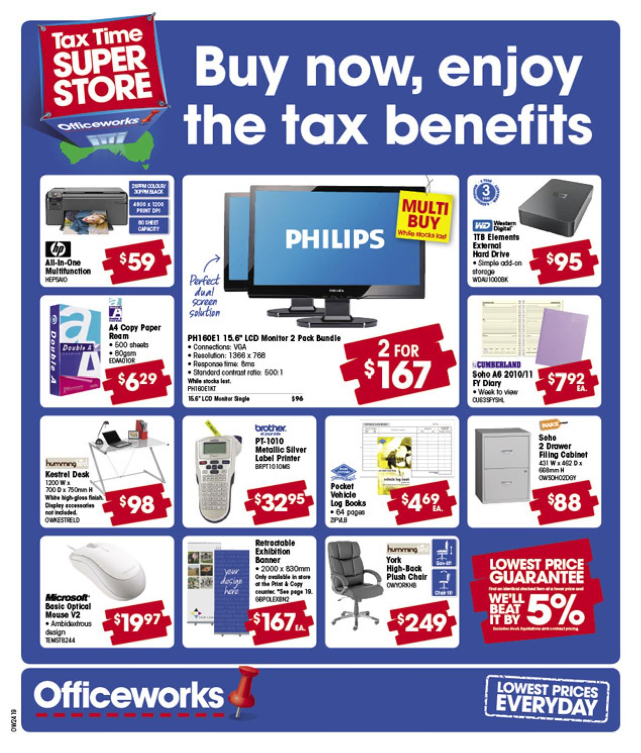 Officeworks Catalogue 4 By Atomic Media Issuu
