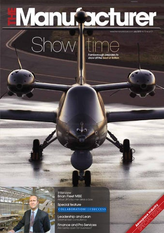 The Manufacturer July 2010 issue