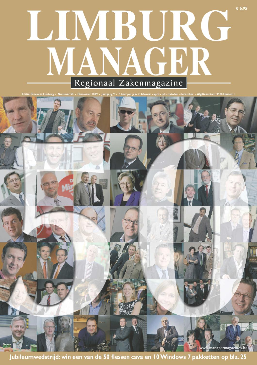 Limburg Manager 76 by Manager Magazines - issuu