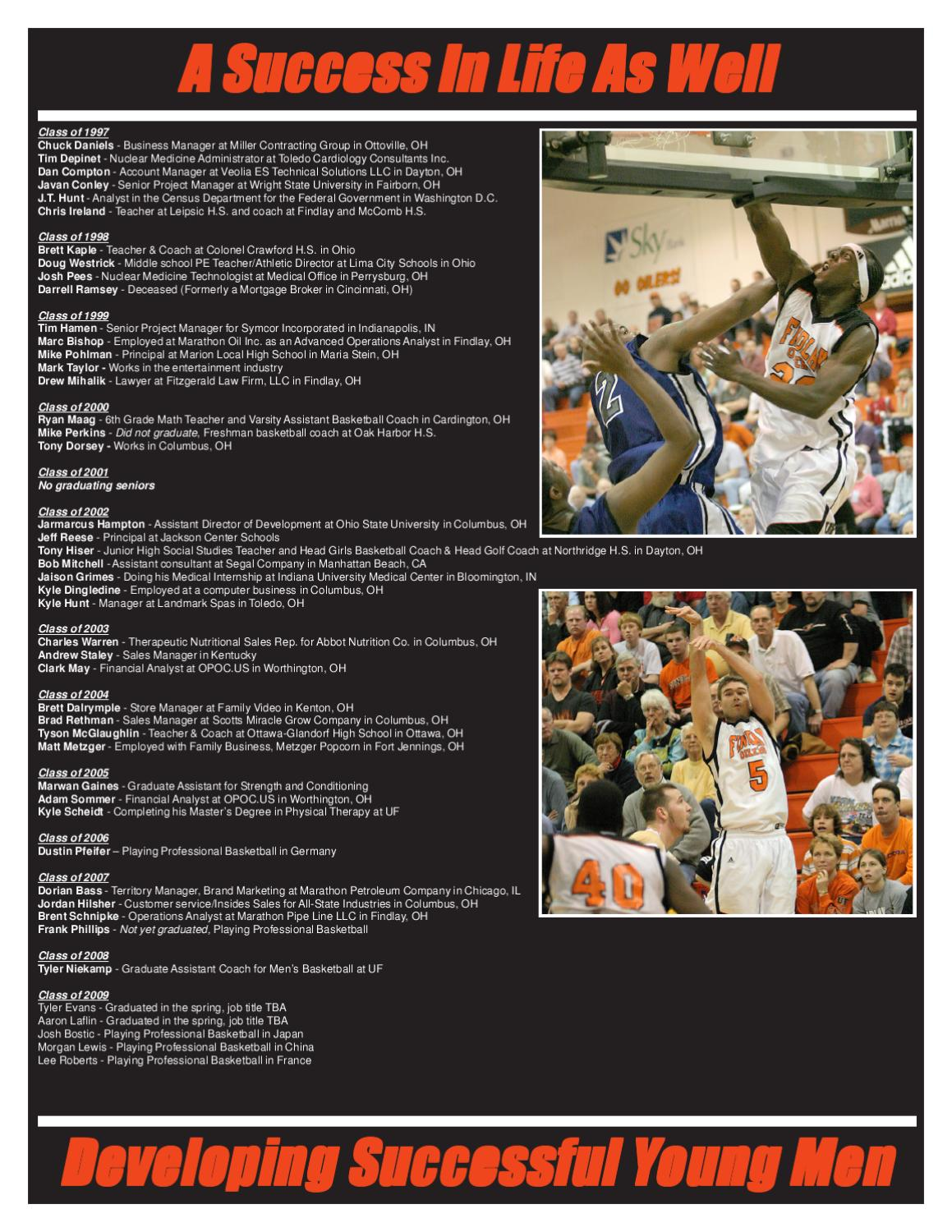 the university of findlay men s basketball by the university of the university of findlay men s basketball by the university of findlay page 19 issuu