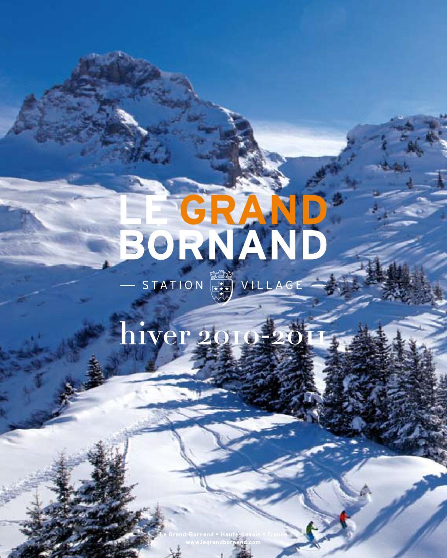 Le grand bornand brochure hiver 2011 by office de tourisme issuu - Office du tourisme grand bornand chinaillon ...