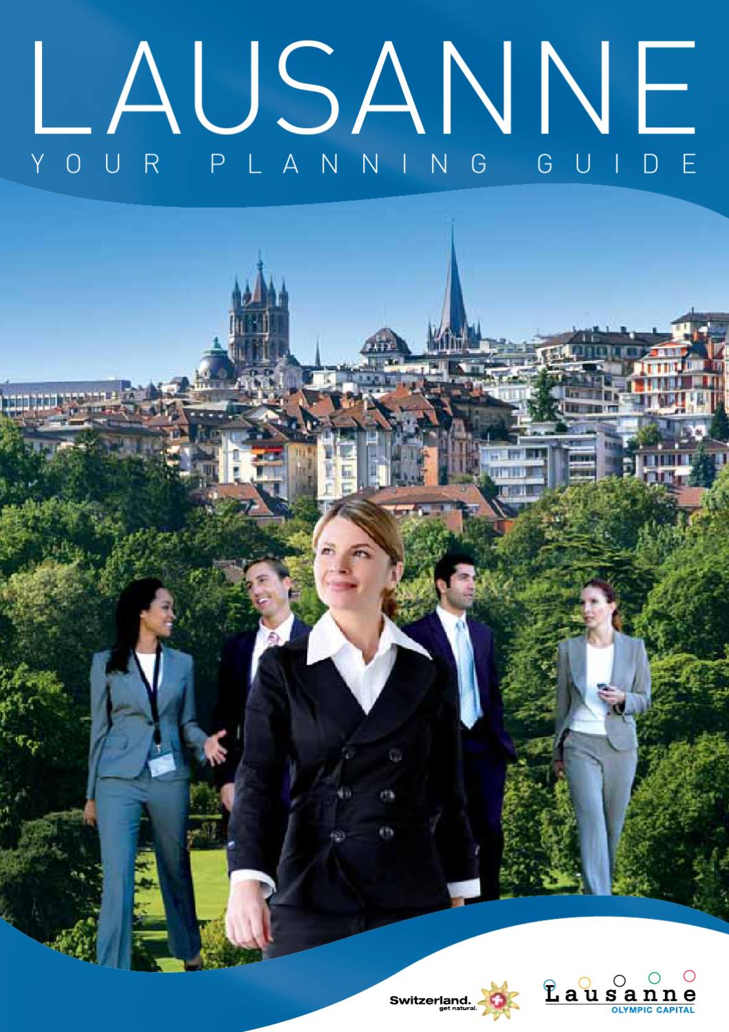Lausanne planning guide (56309en) by switzerland tourism   issuu