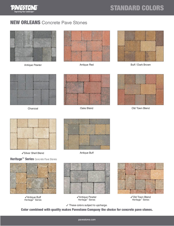 Remodeling Software Pavestone Colors 28 Images Concrete Pavers Colors